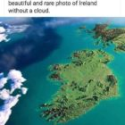 Ireland from the ISS