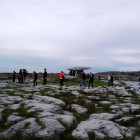 Poulnabrone with people