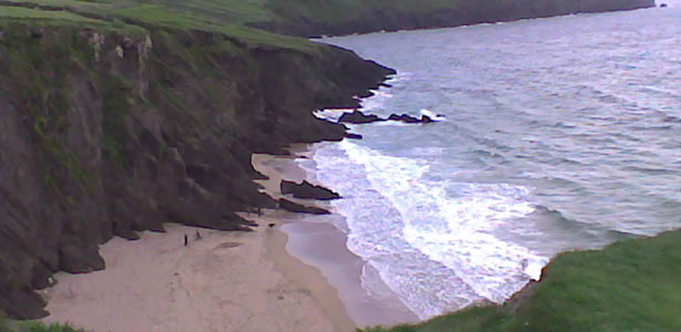 a beach in Dingle
